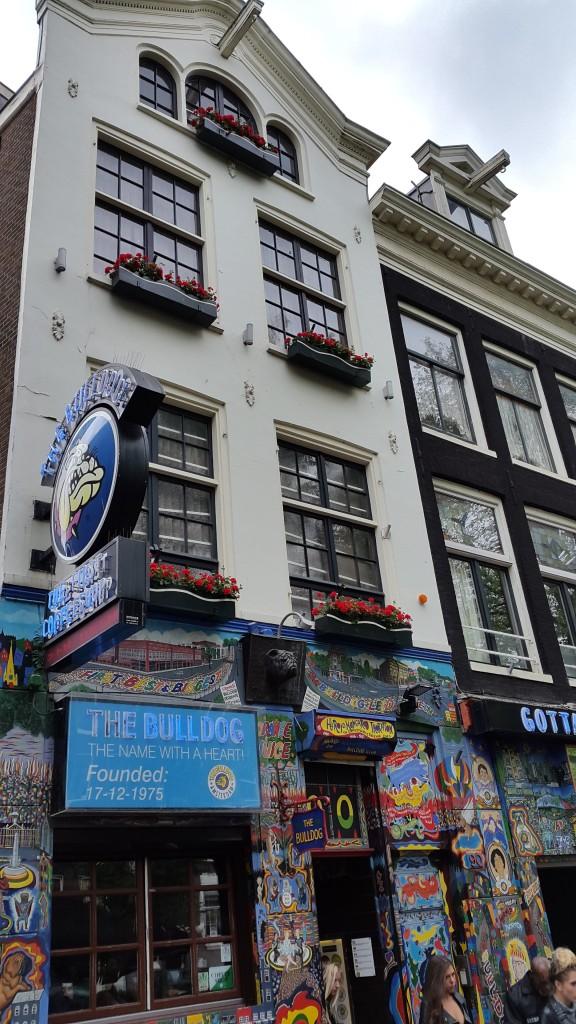 Buldog - zvanično prvi coffee shop u Amsterdamu, a nije kafa ono što prodaju