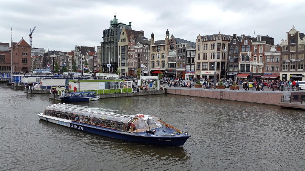 Amsterdam na vodi