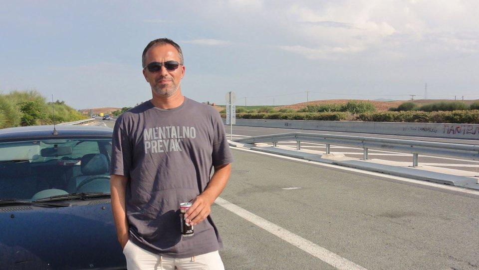 Nebojša Krivokuća, autor putopisa