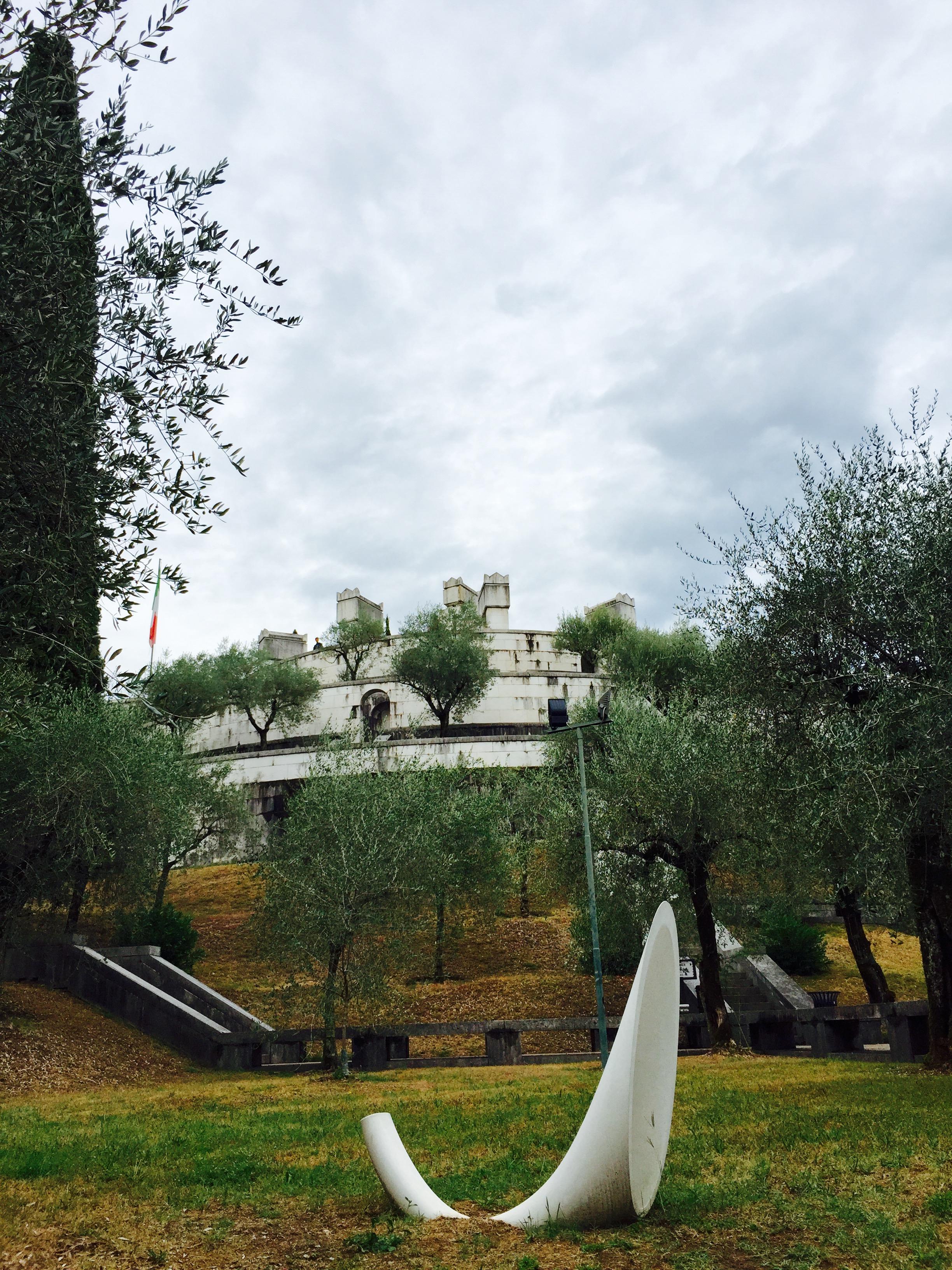 D'Annunzio mauzolej