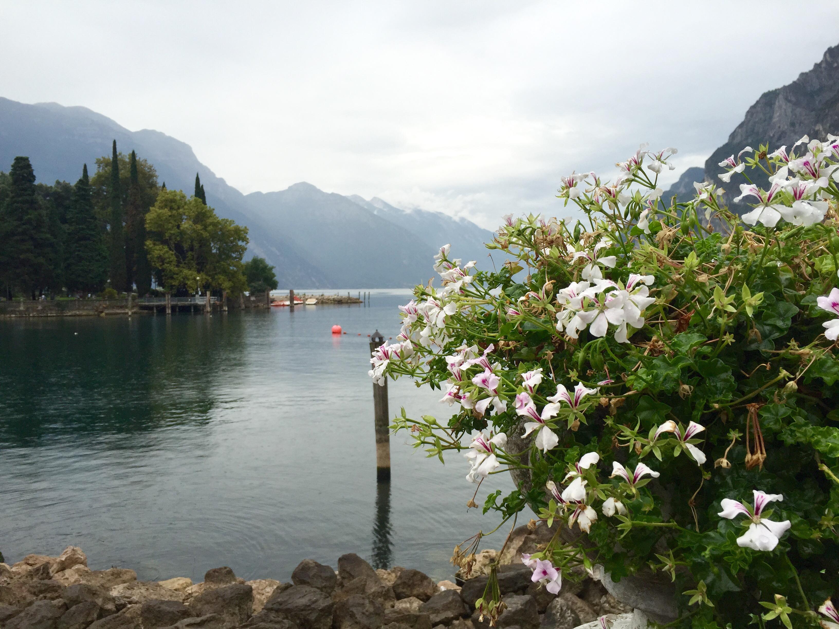 Pogled na jezero Garda