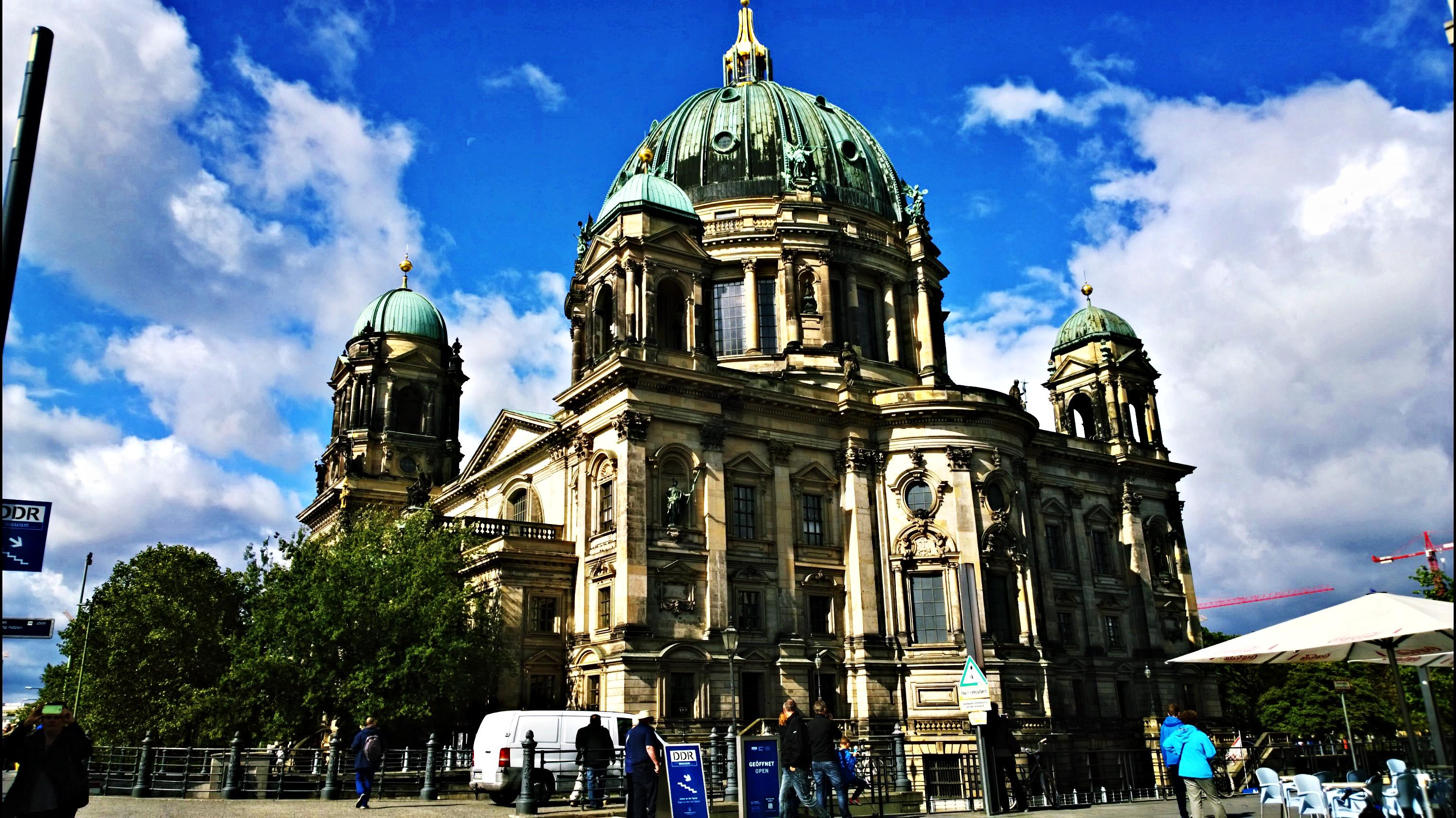 Berliner Dom / Berlinska katedrala, najveća crkva u Berlinu, otvorena 1905, visoka 115m.