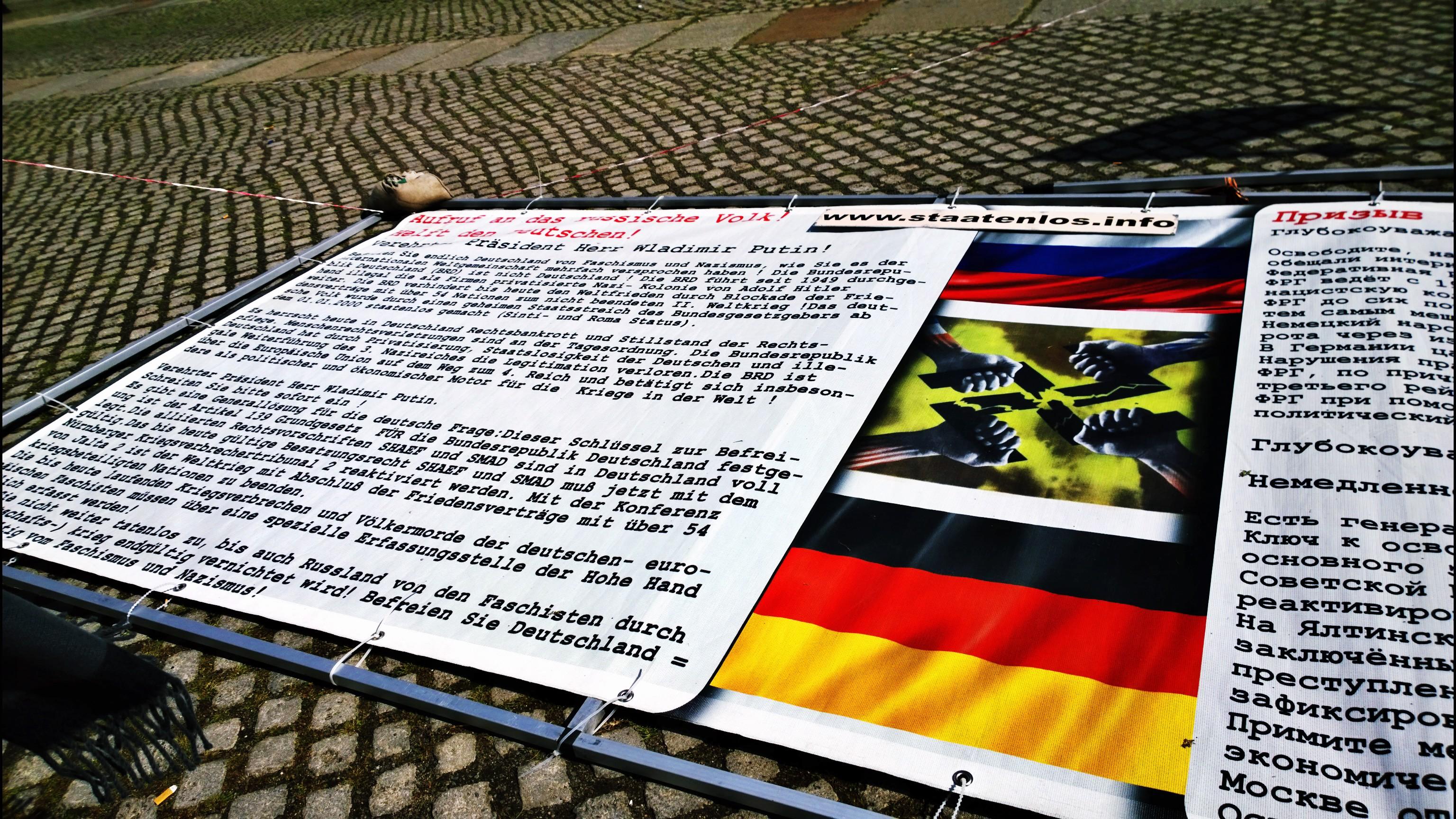 Peticija upućena Putinu da spasi Nemačku zlih sila