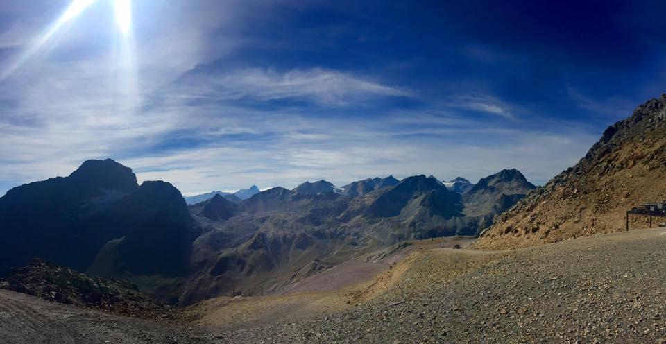 Pogled sa vrha Piz Nair