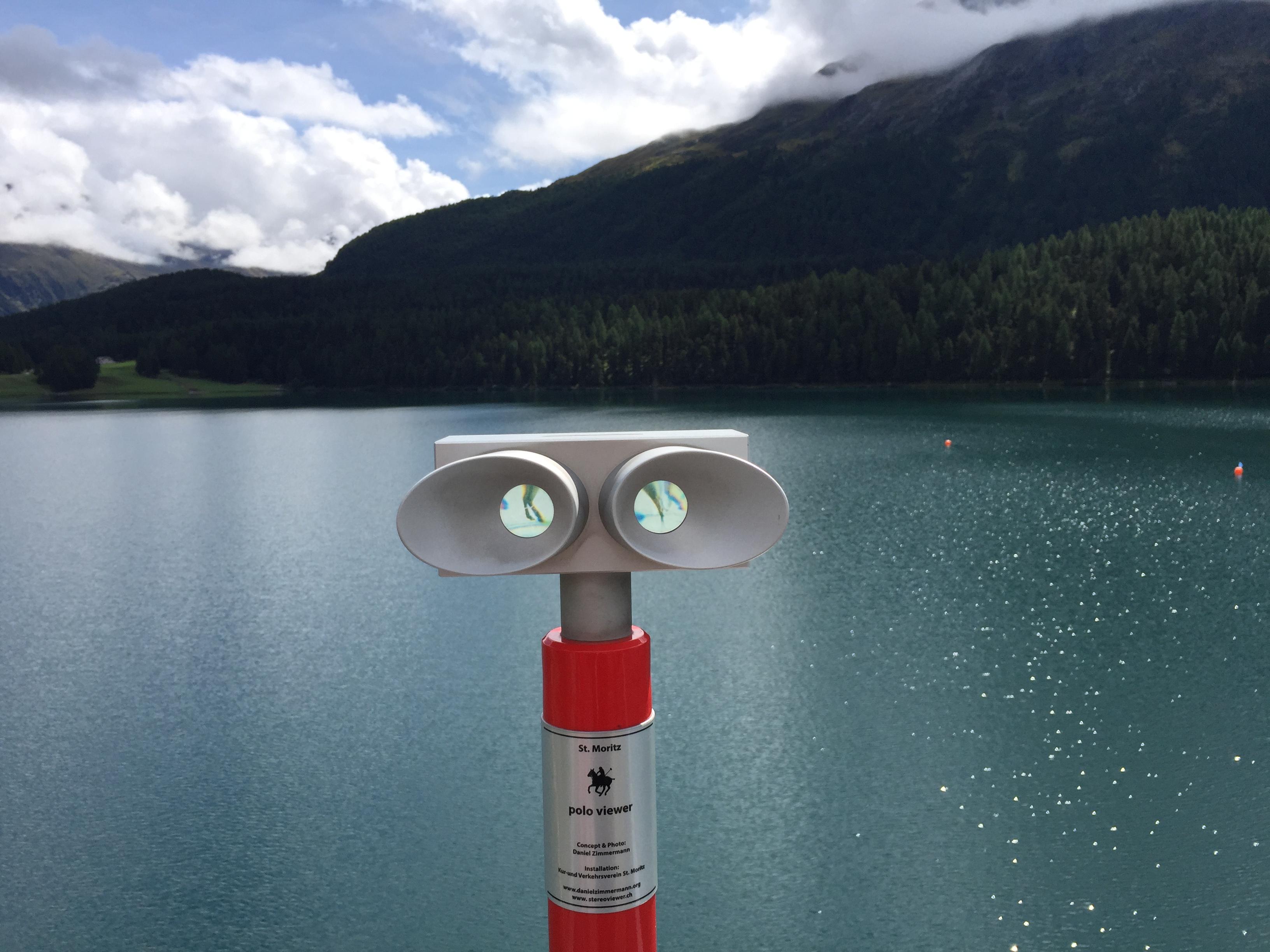 Reklama na jezeru 1
