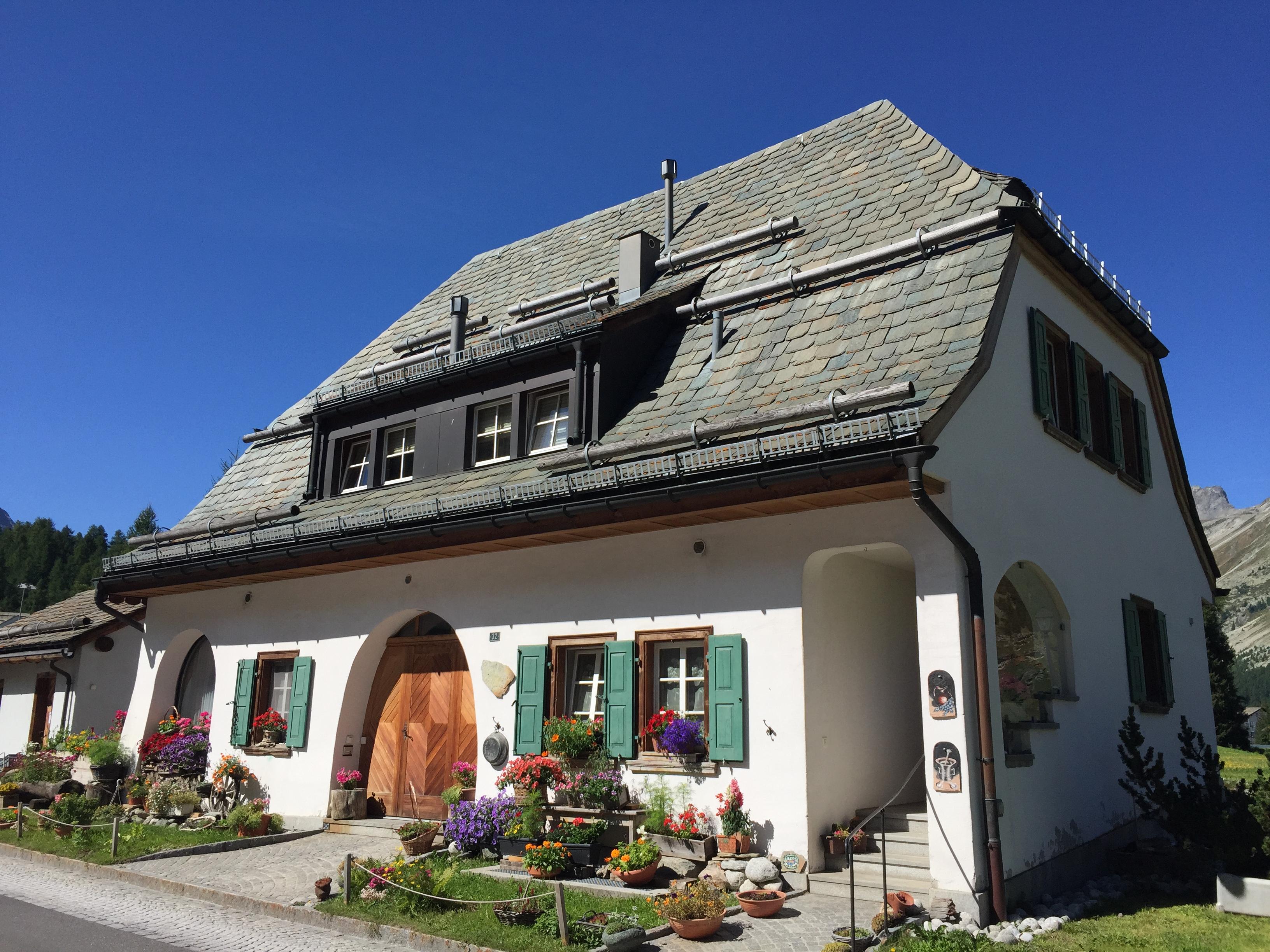 Tipična alpska kuća