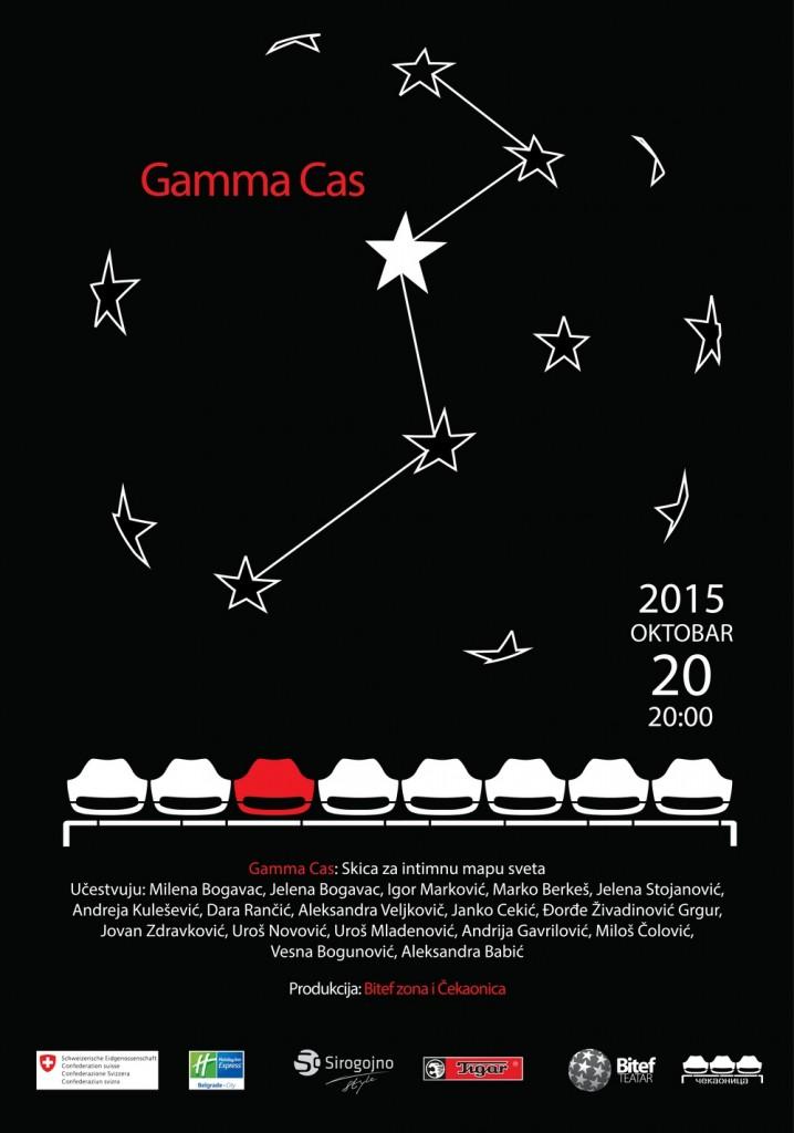 premijera Gamma Cas