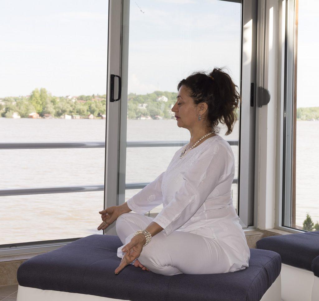 Danica Cvetković, sertifikovana učiteljica kundalini joge, Kundalini klub Beograd