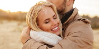 close-up-portrait-beautiful-couple-love-hugging - People photo created by drobotdean - www.freepik.com